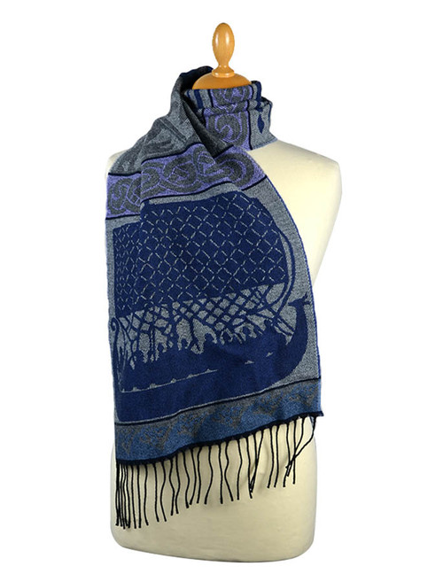 GlenAran Celtic Viking Pattern Scarf
