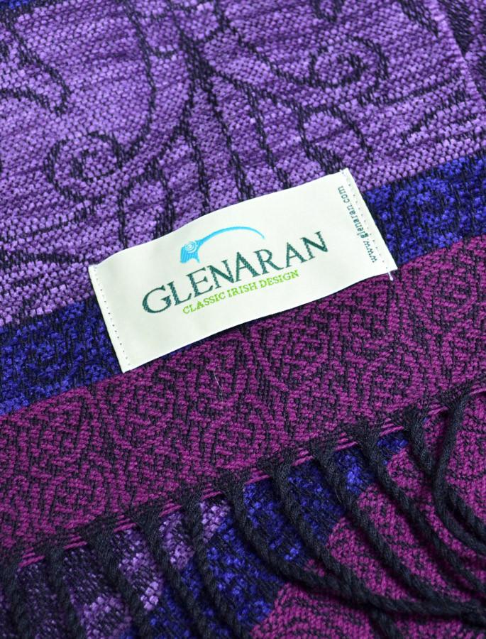GlenAran Celtic Birds Pattern Scarf