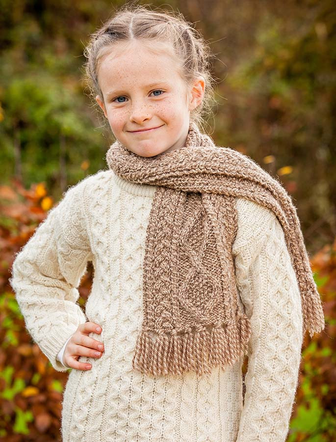 Children's Merino Wool Scarf