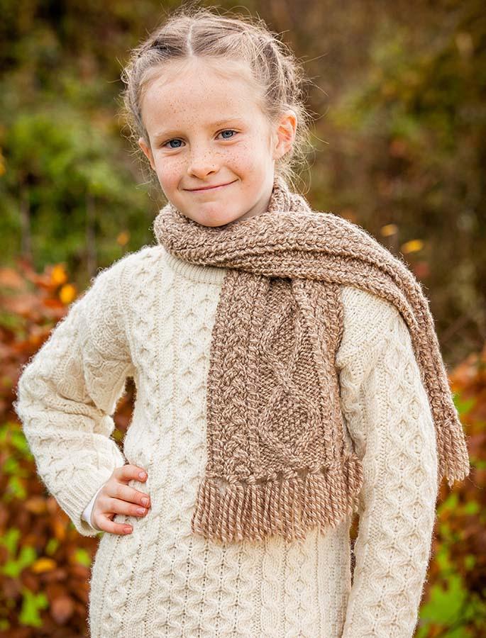 Children's Merino Wool Scarf