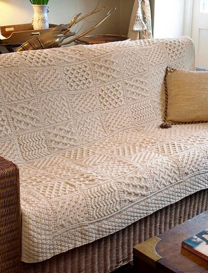 Luxury Merino Patchwork Throw