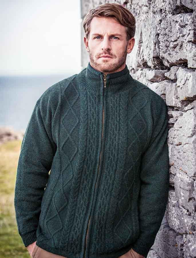 Windproof Aran Style Jacket