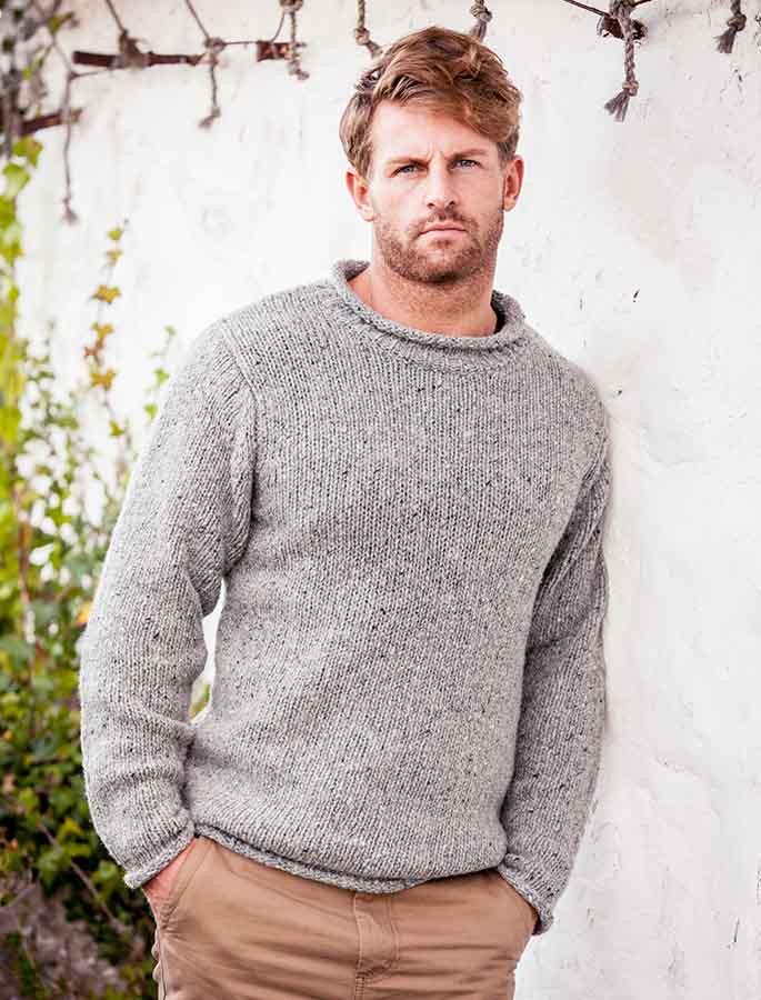 26e5a40e448 Roll Neck Sweater - Fisherman Sweater