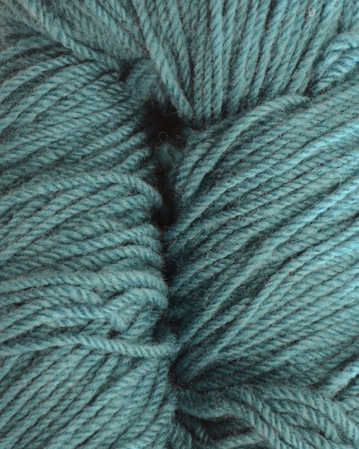 Aran Wool Knitting Hanks - Petrol