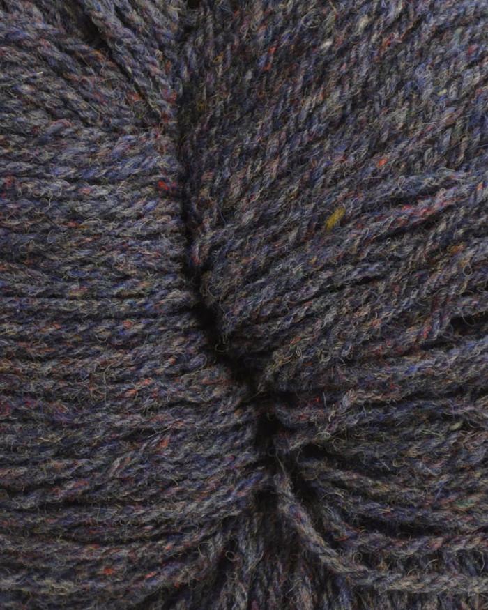 Aran Wool Knitting Hanks - Denim Mix