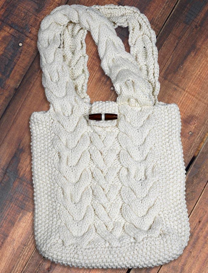 Aran Shopping Bag