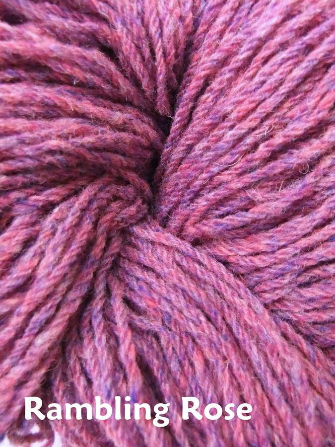 Aran Wool Knitting Hanks - Rambling Rose