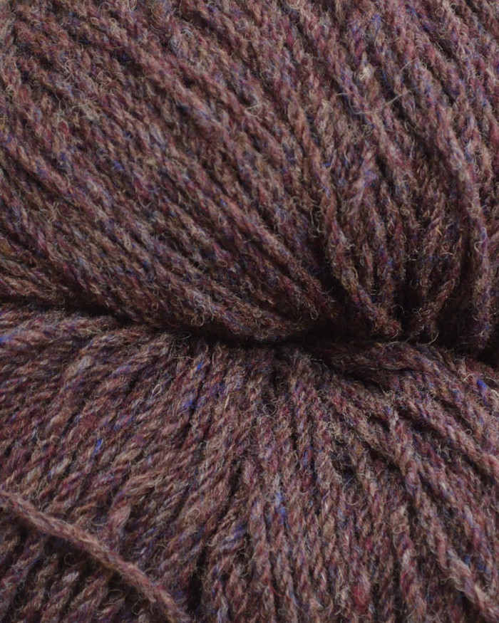 Aran Wool Knitting Hanks - Bilberry