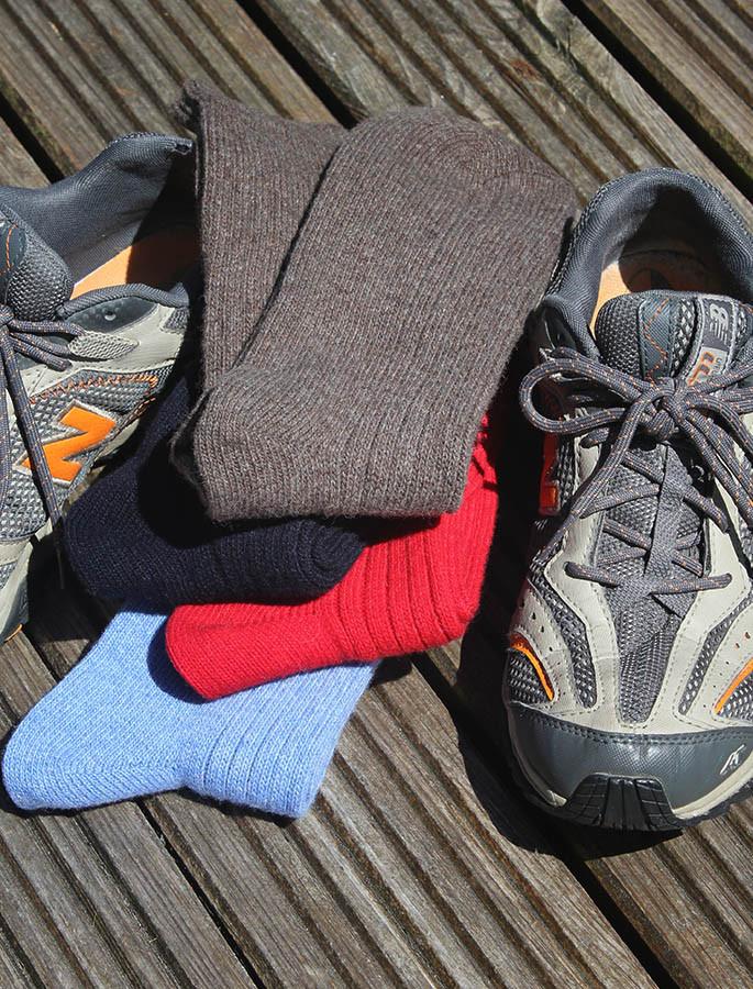 Connemara Merino Wool Walking Socks