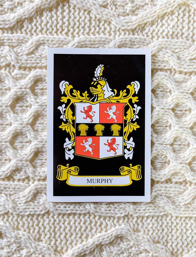 Murphy Clan Aran Throw