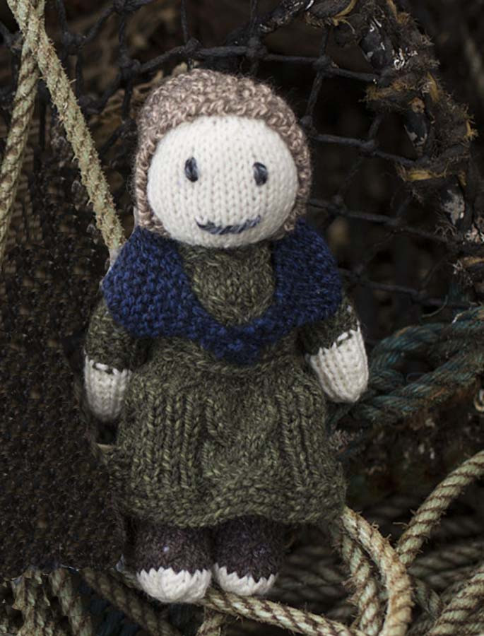 Woman of Aran Doll