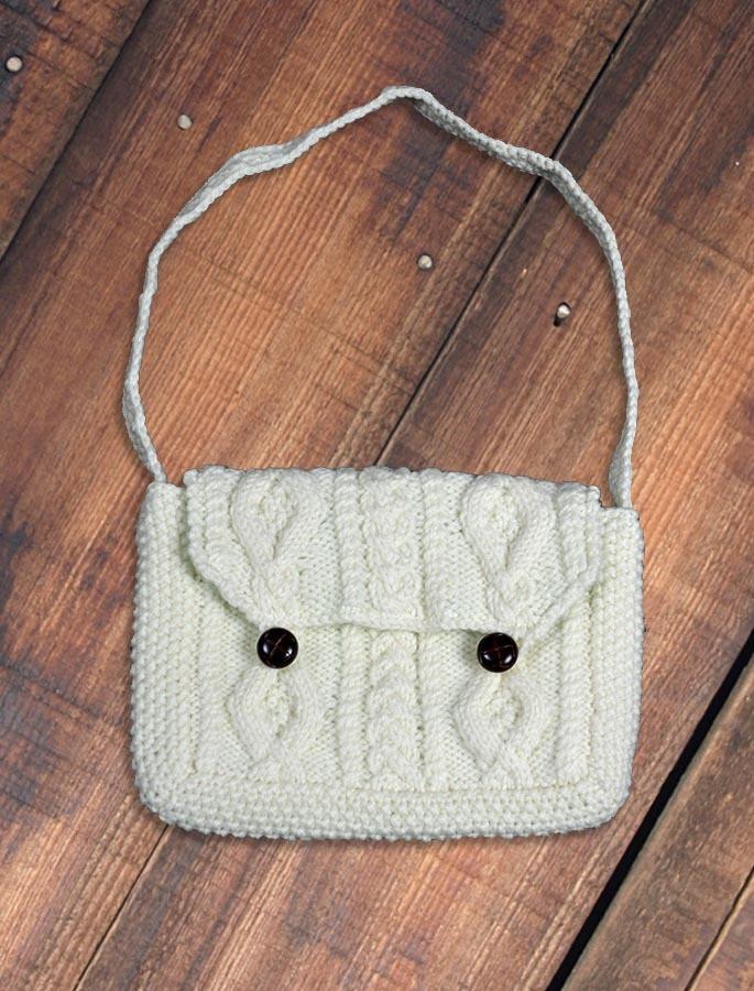 Small Handknit Purse Bag