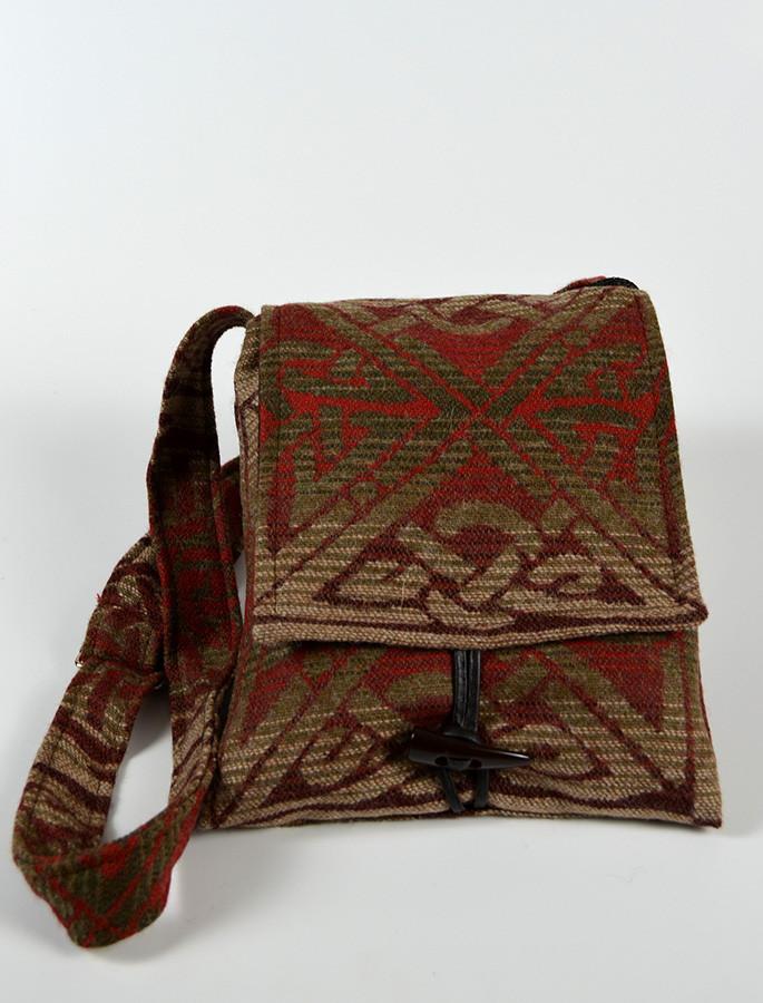 GlenAran Celtic Shoulder Bag - Redwood