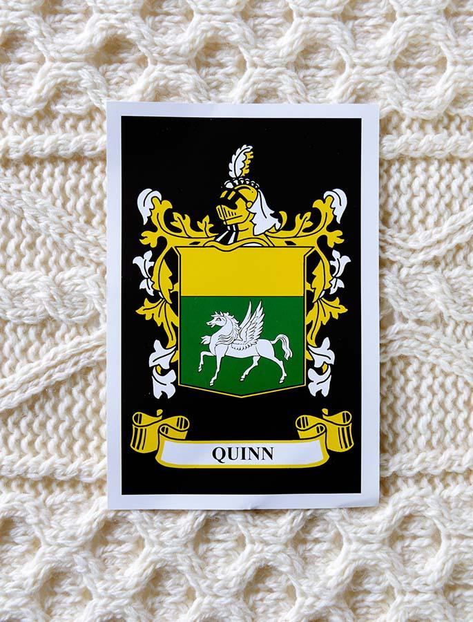 Quinn Clan Aran Throw