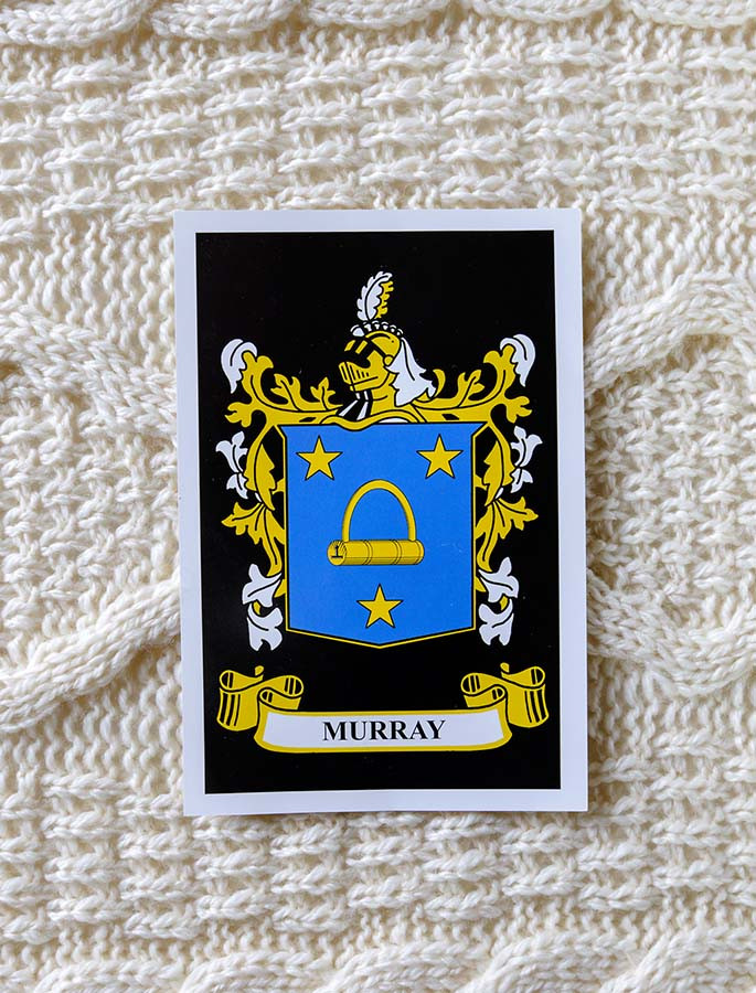 Murray Clan Aran Throw
