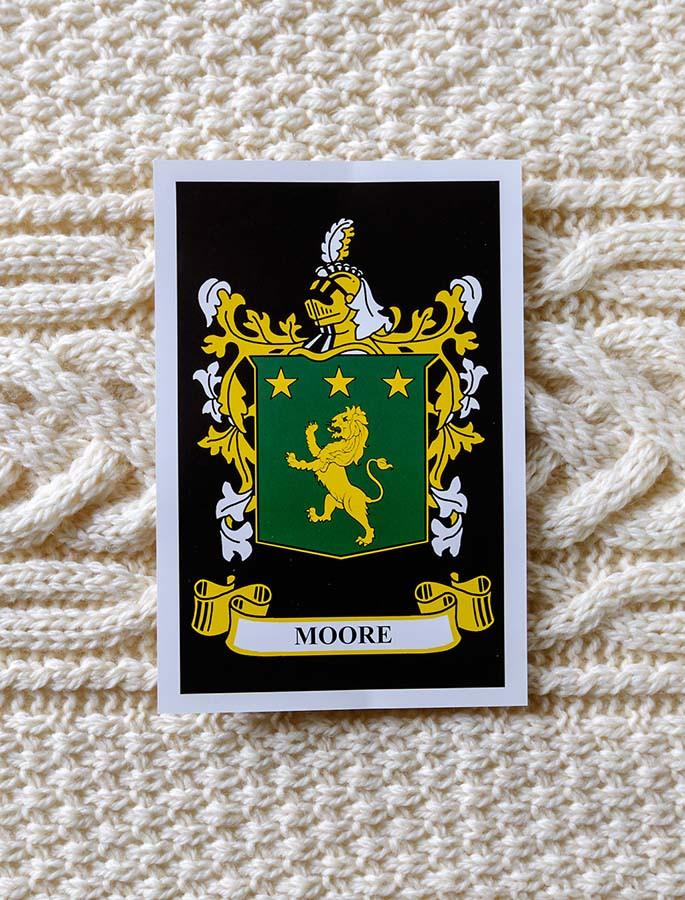 Moore Clan Aran Throw