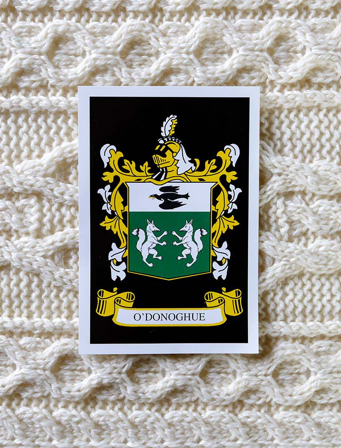 O'Donoghue Clan Aran Throw