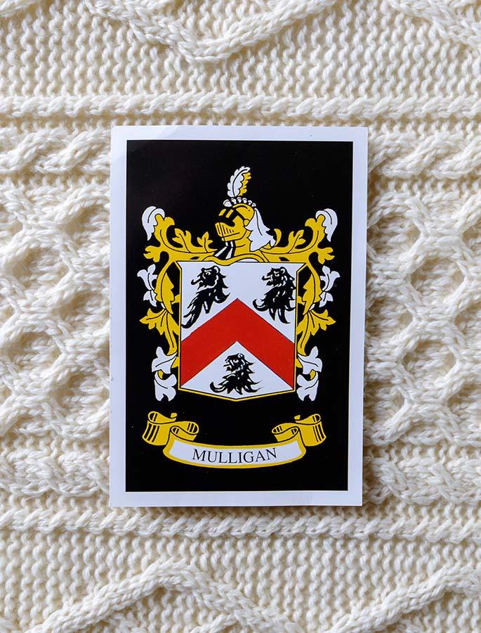 Mulligan Clan Aran Throw