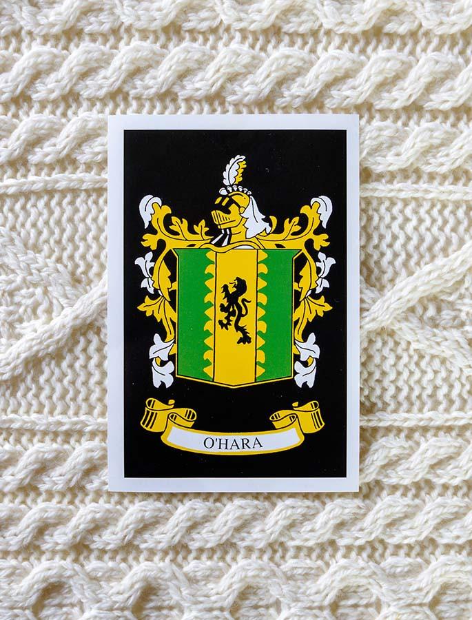 O'Hara Clan Aran Throw