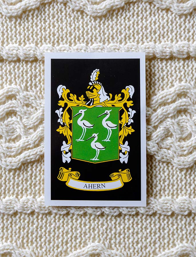 Ahern Clan Aran Throw