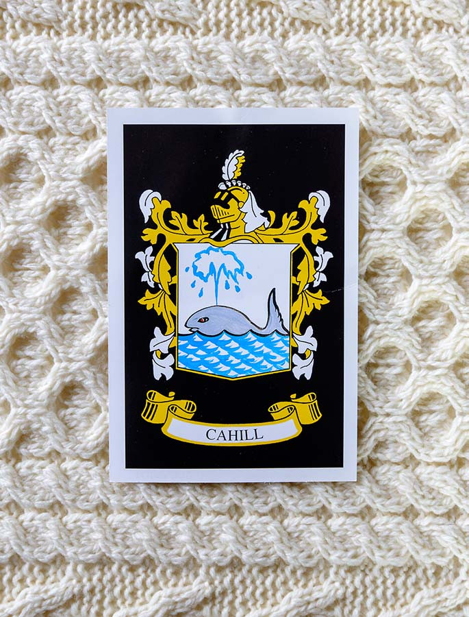 Cahill Clan Aran Throw