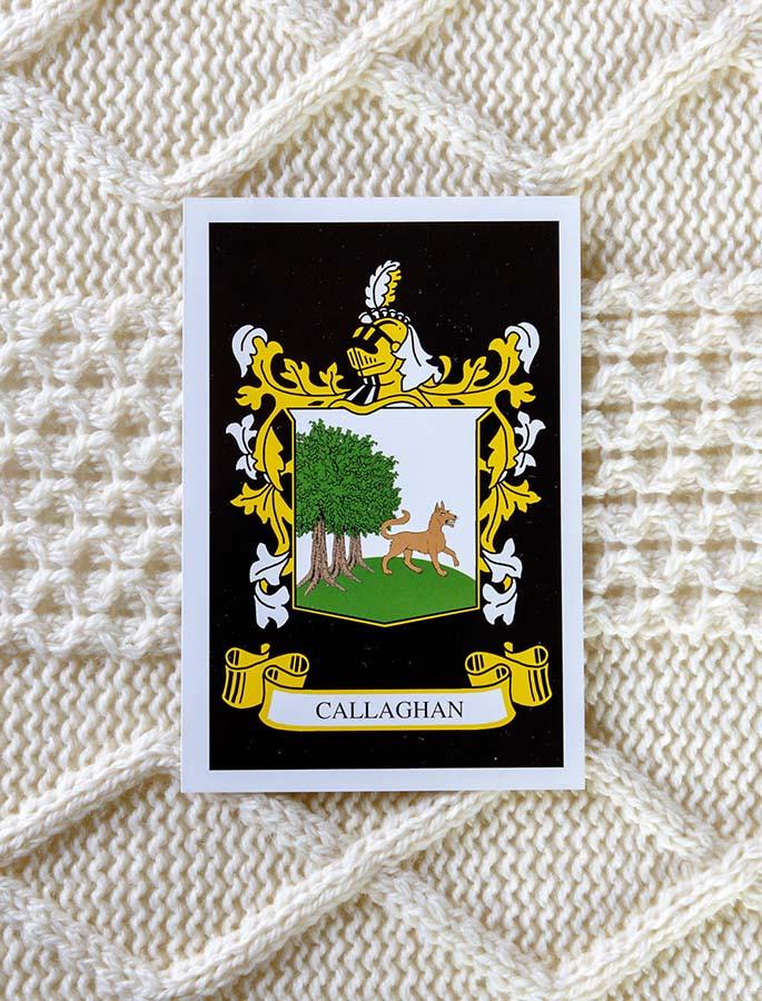 Callaghan Clan Aran Throw