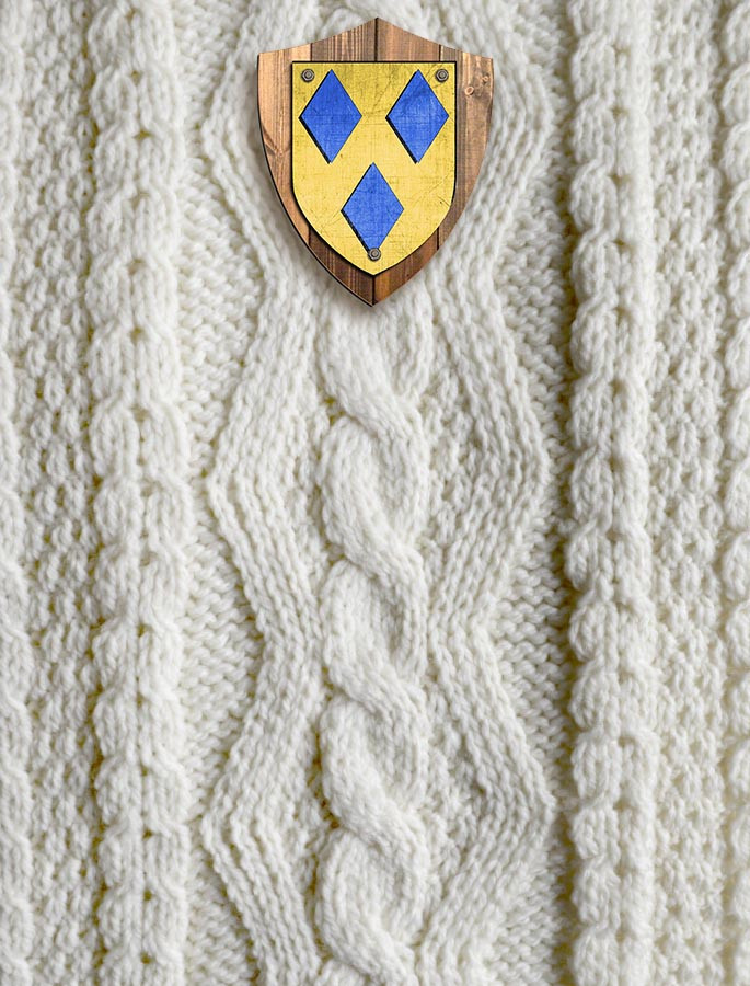 Costello Clan Aran Throw
