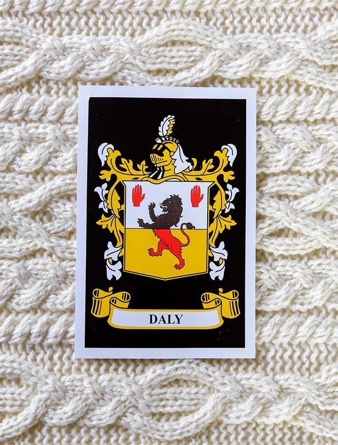 Daly Clan Aran Throw