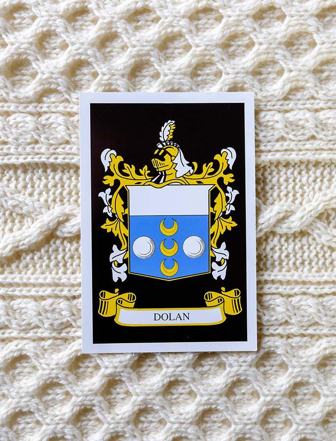 Dolan Clan Aran Throw