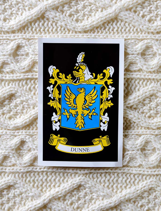 Dunne Clan Aran Throw