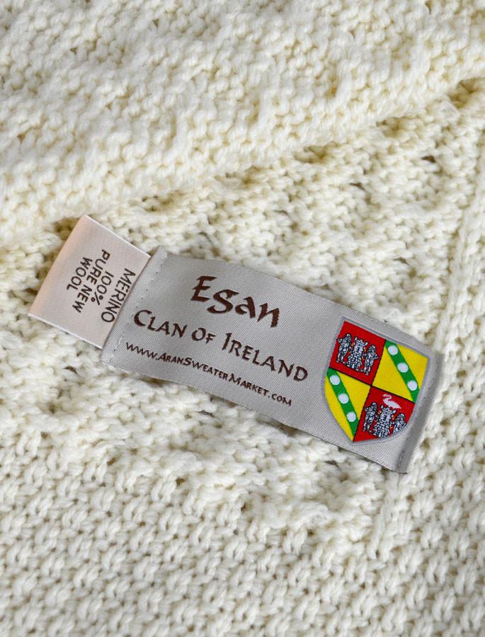 Egan Clan Aran Throw