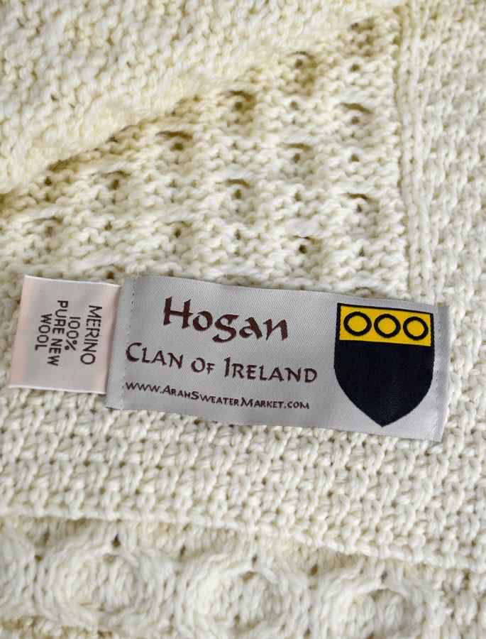 Hogan Clan Aran Throw