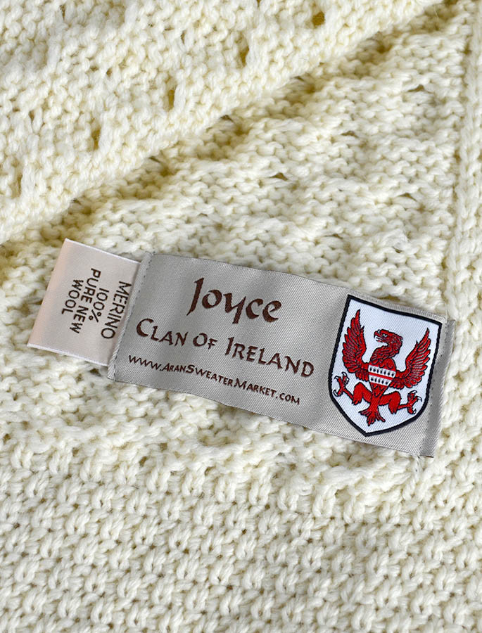 Joyce Clan Aran Throw
