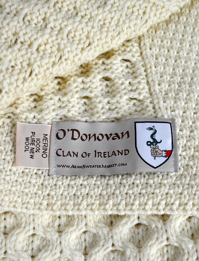 O'Donovan Clan Aran Throw