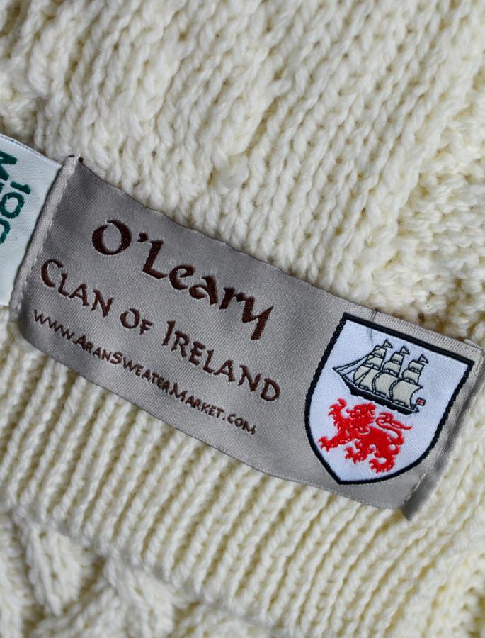O'Leary Clan Aran Throw