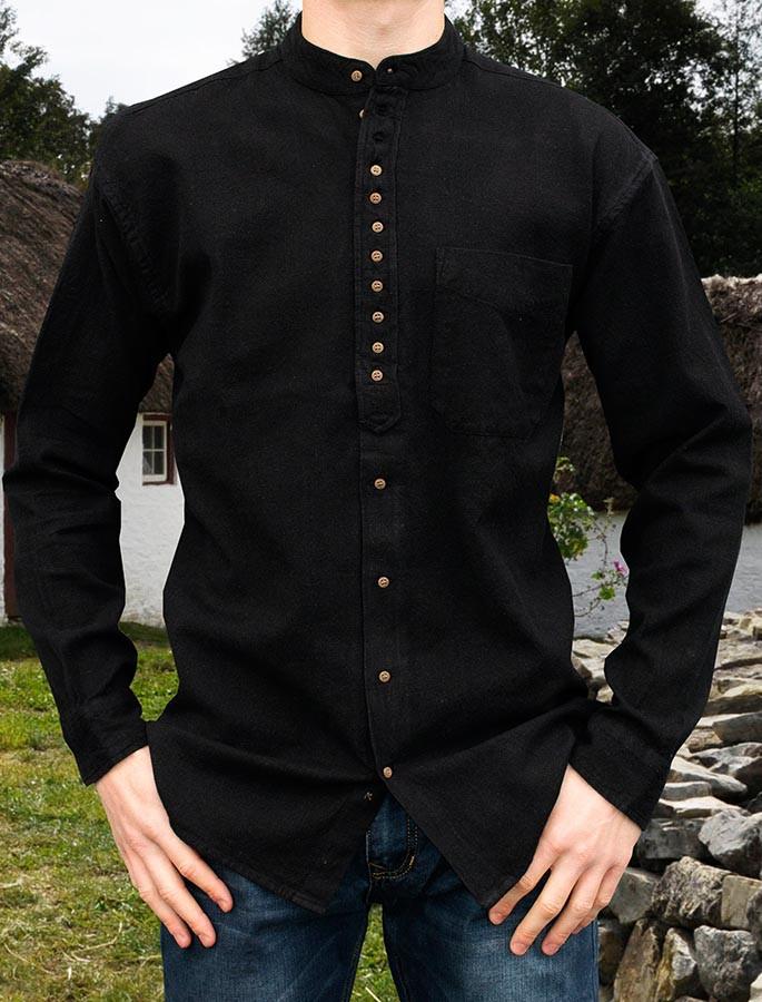 Grandfather Shirt - Motor Black