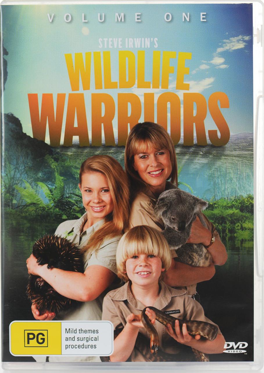 Steve Irwin S Wildlife Warriors Dvd Volume 1