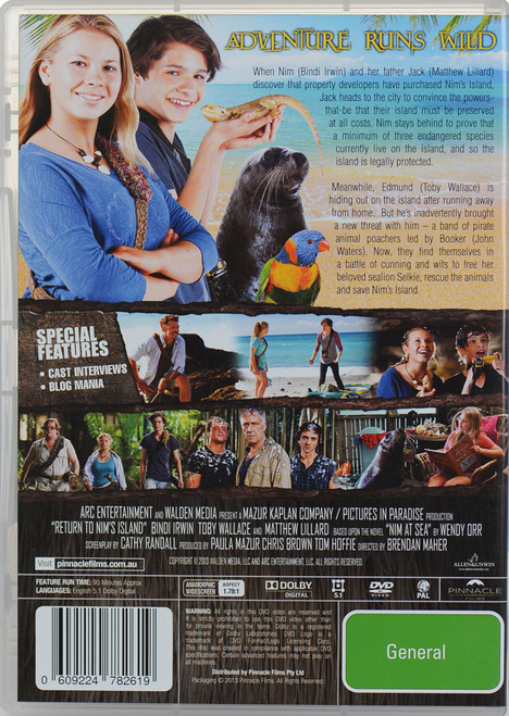 return to nims island full movie
