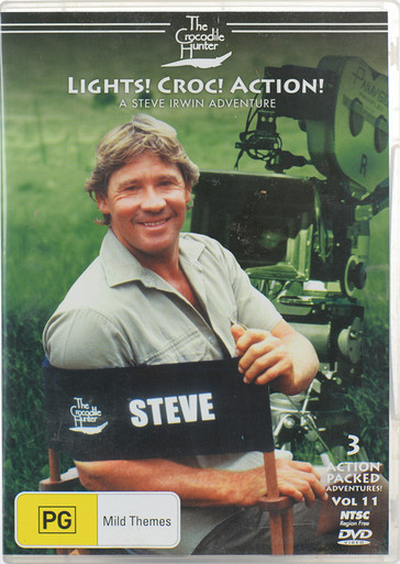 faf9b82b4229 The Crocodile Hunter DVD Volume 11 - Lights! Crocs! Action ...