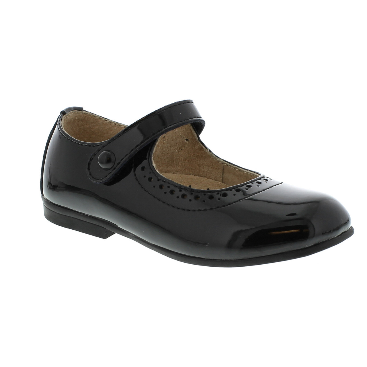b82fe22cd9bd7 Footmates *EMMA* Black Patent Mary Jane