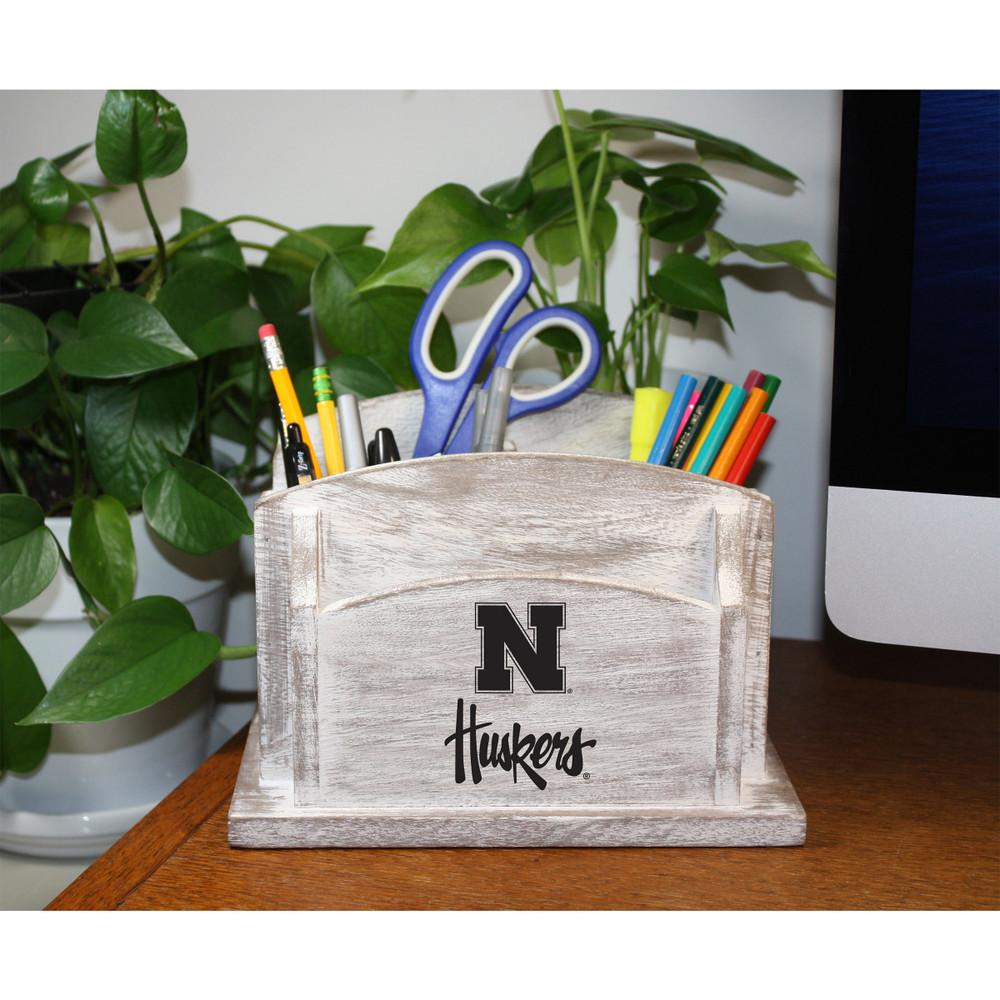 Nebraska Huskers Desk Organizer   Imperial   615-3010