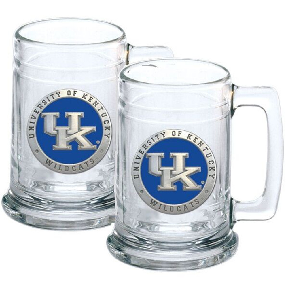 Kentucky Wildcats Beer Mug Set of Two | Heritage Pewter | ST10567EB