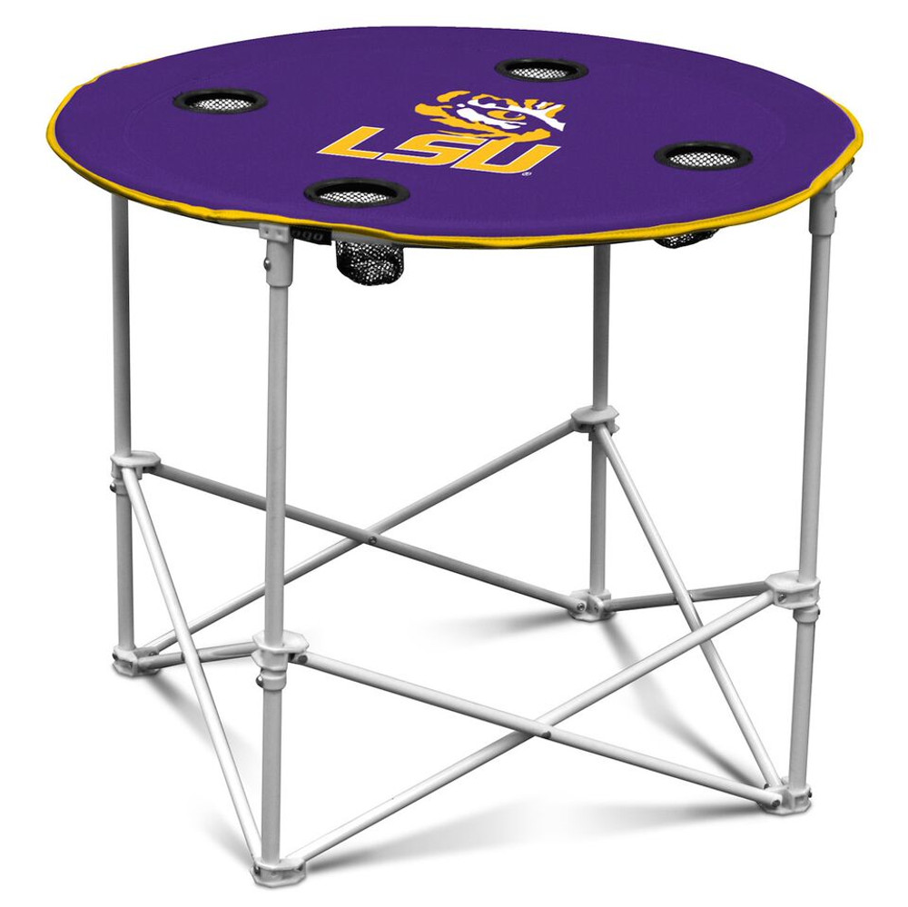 LSU Tigers Portable Table | Logo Chair | 162-31
