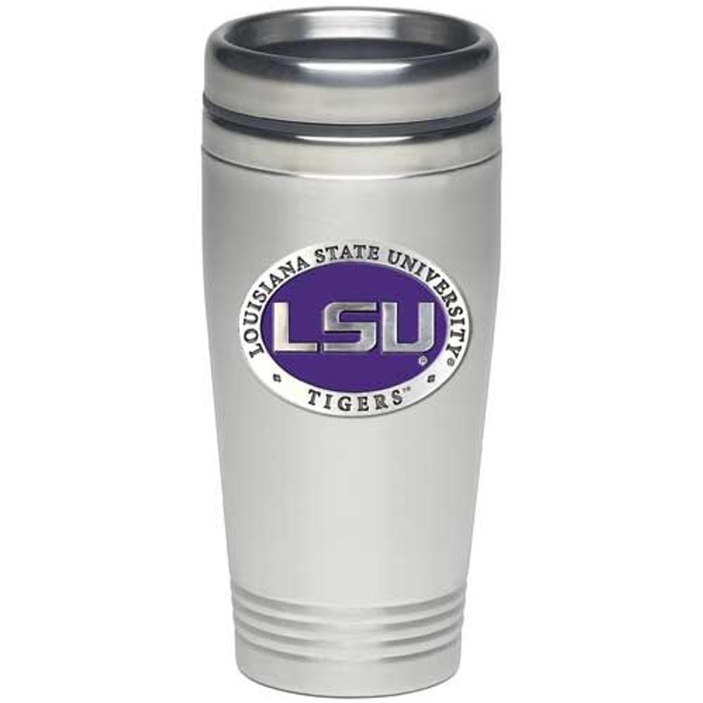 LSU Tigers Thermal Mug | Heritage Pewter | TD10121E