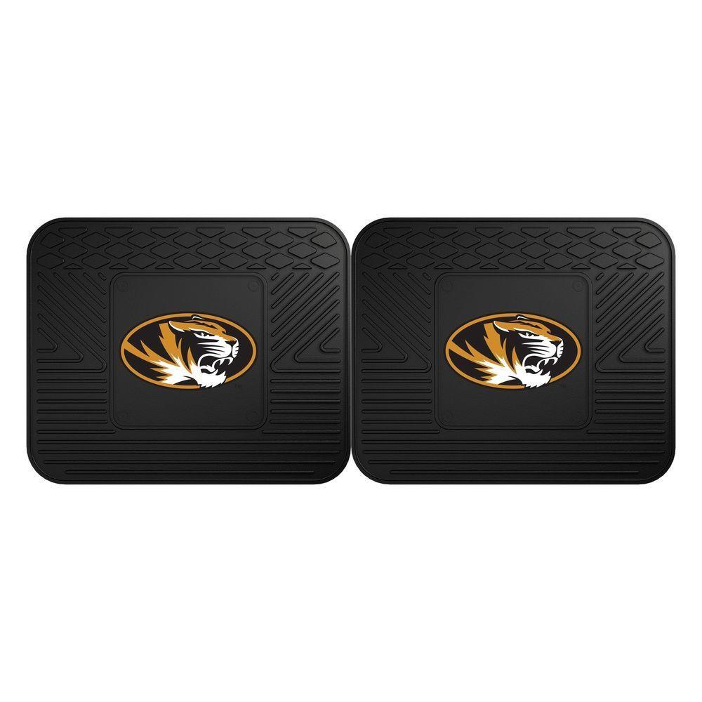 Missouri Tigers Utility Car Mats Set of Two