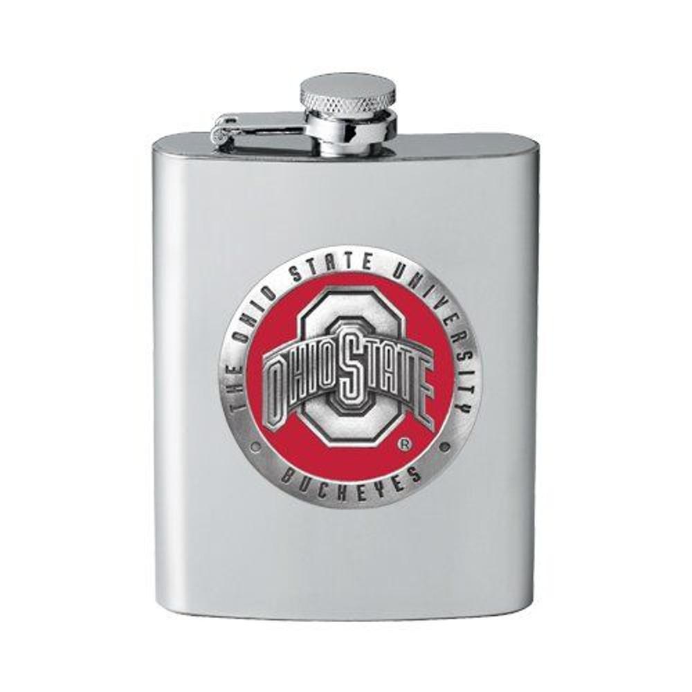 Ohio State Buckeyes Flask | Heritage Pewter | FFS10175E