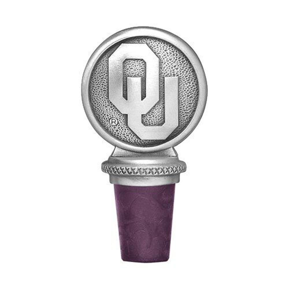Oklahoma Sooners Bottle Stopper | Heritage Pewter | BS10194