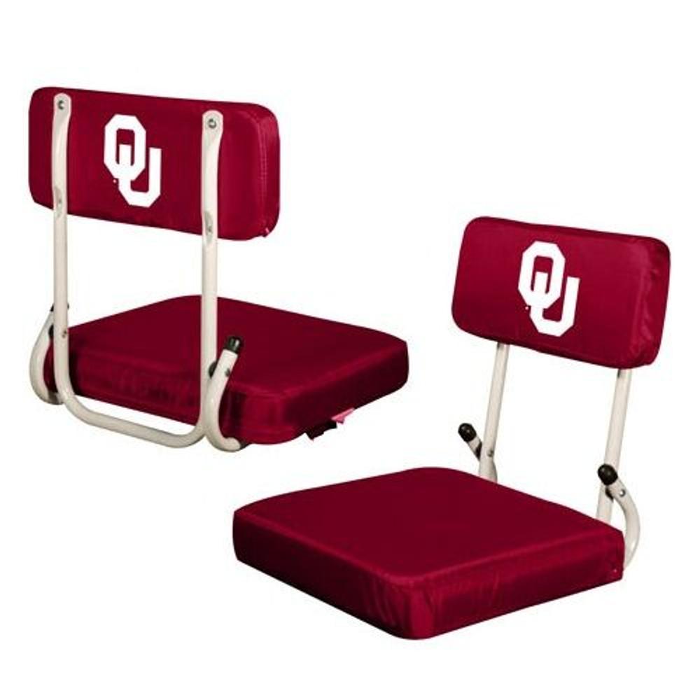 Oklahoma Sooners Hard Back Stadium Seat   Logo Chair   192-94