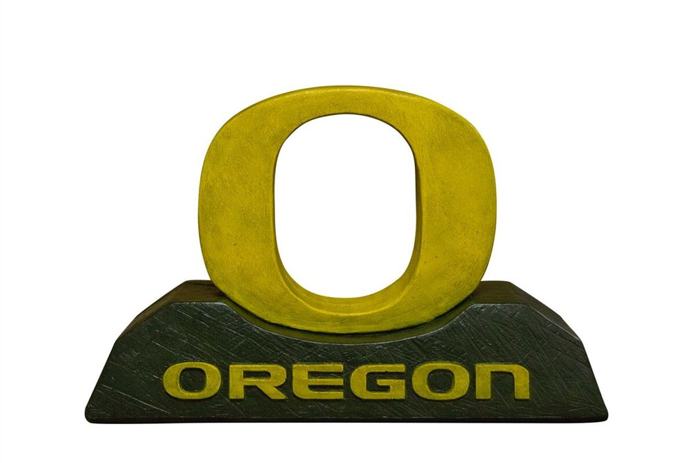 Oregon Ducks Mascot Garden Statue