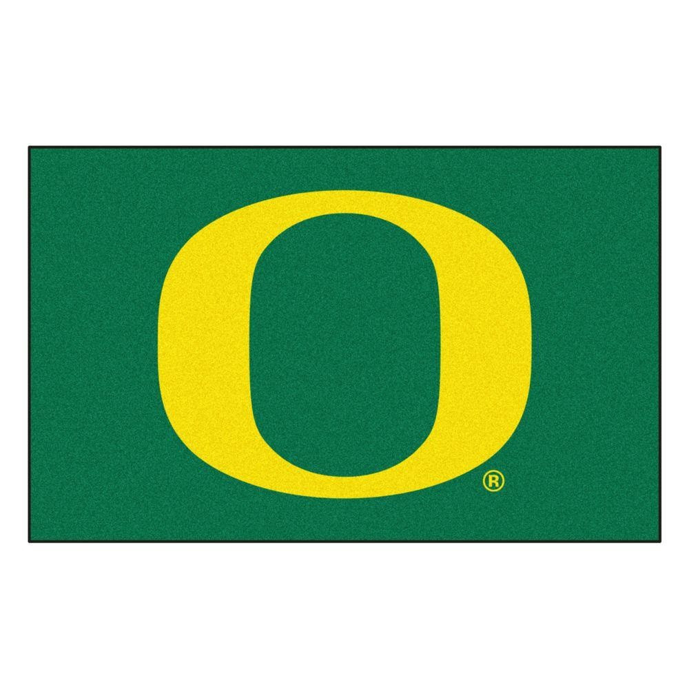 Oregon Ducks Tailgate Mat Rug
